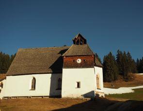 Die St. Agatha Kapelle.