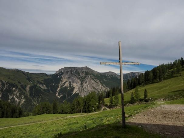 Auf der Setsch-Alpe