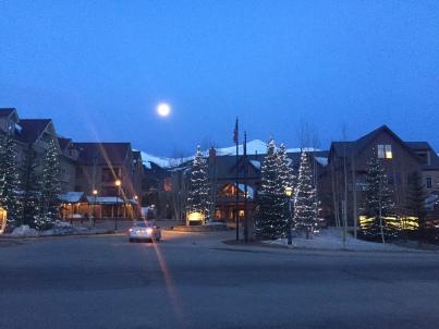 Morgens vor dem Skitag.
